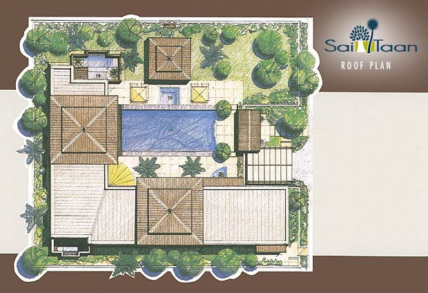 Floor Plans: Sai Taan: Phuket Property